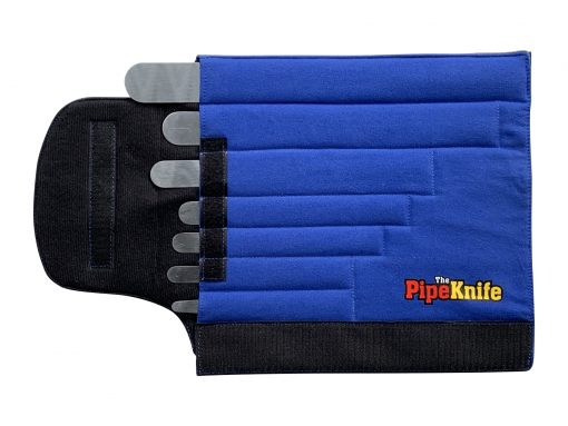 Insulated PipeKnife Velcro Wrap