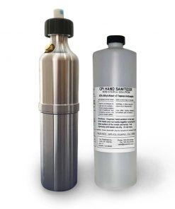 Pressurized Spray Bottle with Hand Sanitizer