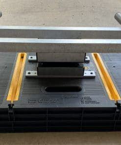 360 Rotating Glass Table & Stand Combo