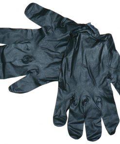black gloves for manual work